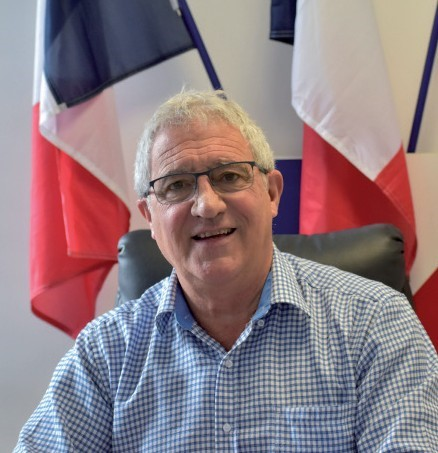 M. le Maire de Magalas, Jean-Pierre SIMO-CAZENAVE