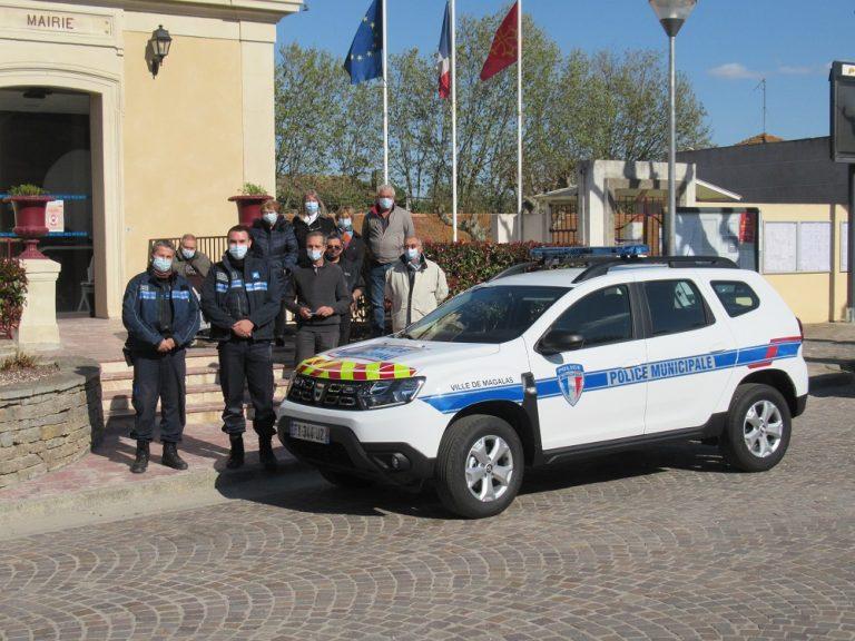 Police Municipale à Magalas